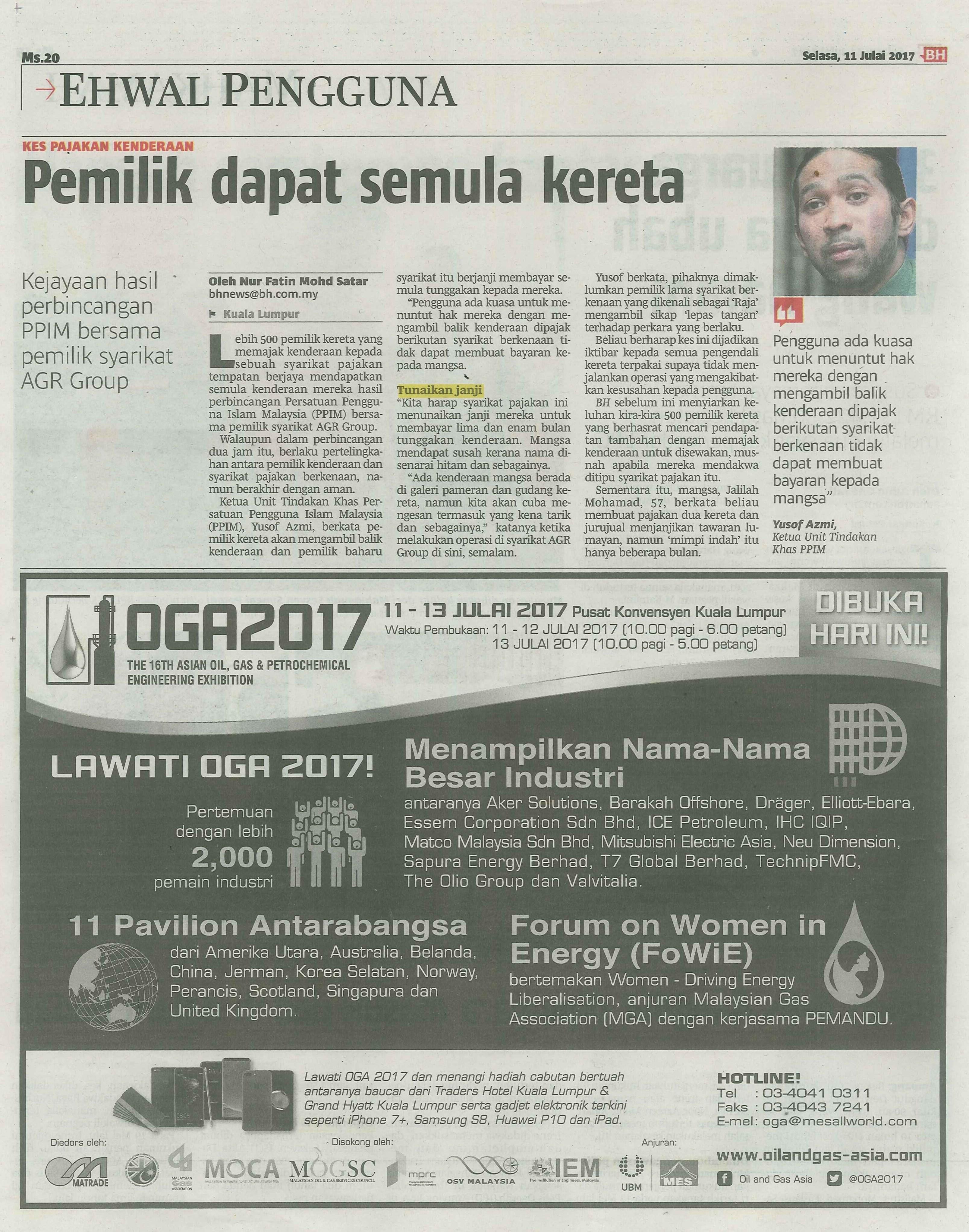 berita harian 11.7.2017