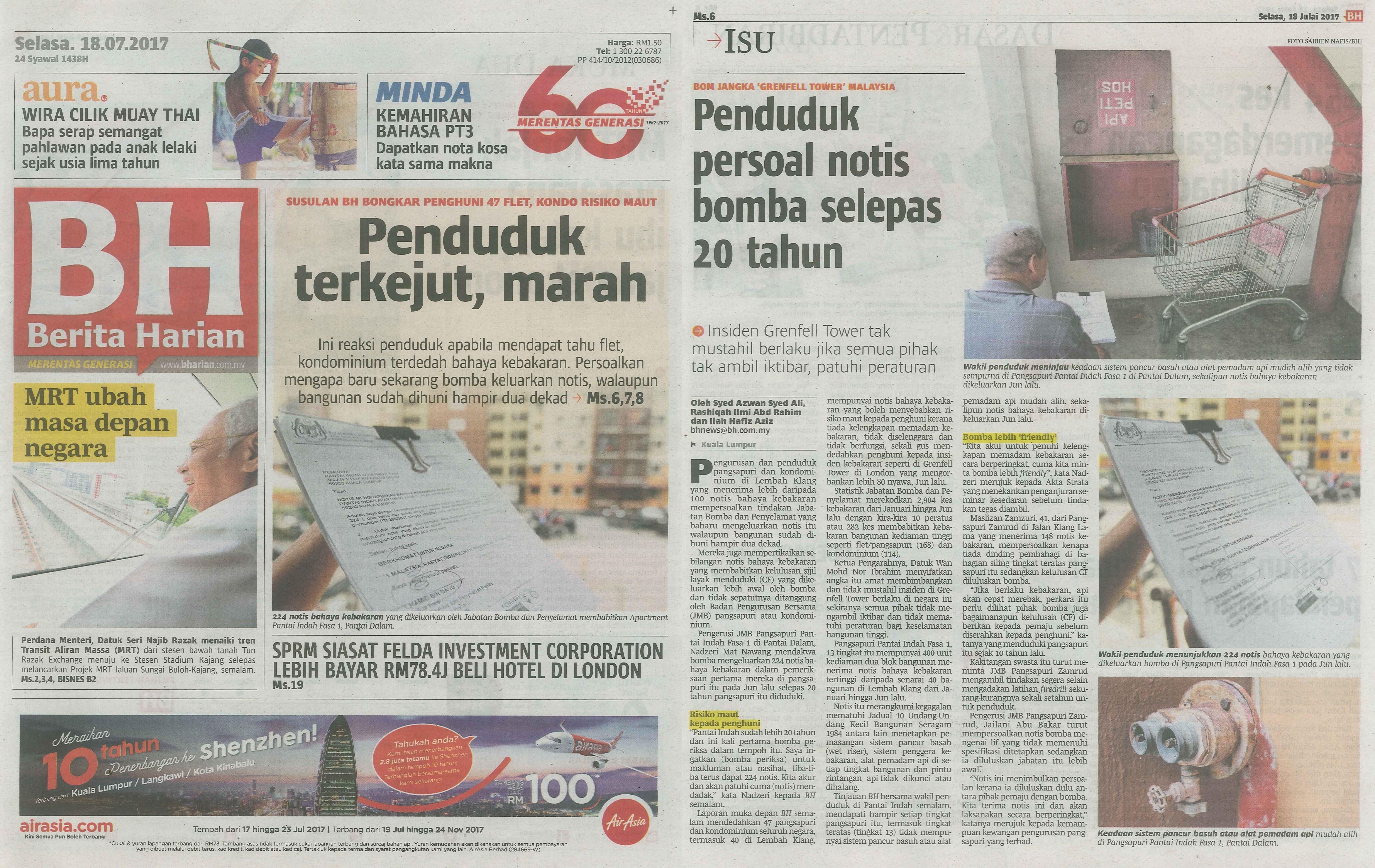 berita harian 18.7.2017
